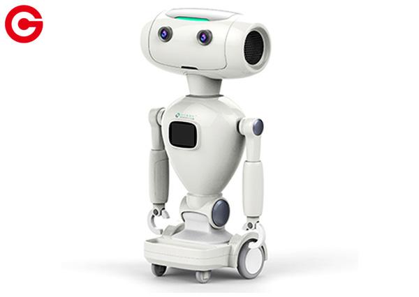 智能陪伴机器人外观设计效果图
